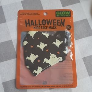 Glow in the dark Face mask NWT